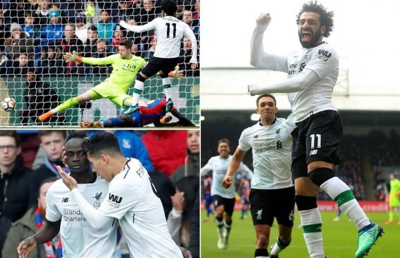 Crystal Palace 1 Liverpool 2: Mo Salah's late strike boost top four hopes and leaves Roy Hodgson deep in relegation trouble