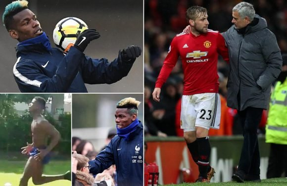 Inside Jose Mourinho's bust-up with Paul Pogba and Luke Shaw… and how the Portuguese all alone at Old Trafford