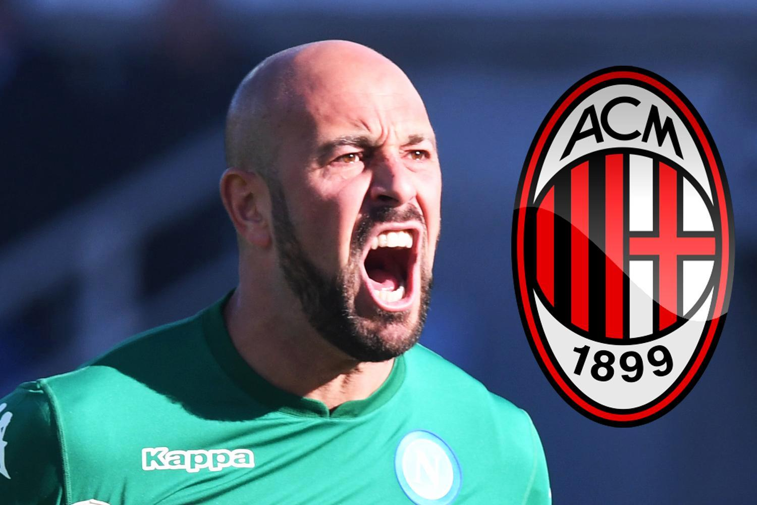 Former Liverpool and Bayern Munich goalkeeper Pepe Reina having medical at AC Milan ahead of free transfer