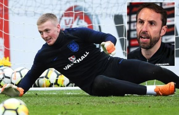 Jordan Pickford in goal for England against Netherlands as Gareth Southgate opts for Everton star as No 1 in friendly