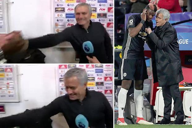 Jose Mourinho blasted Manchester United star Paul Pogba after Frenchman interrupted Match of the Day interview