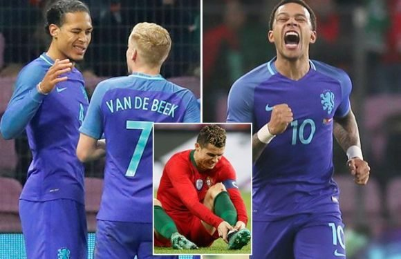 Portugal 0 Holland 3: Virgil van Dijk, Memphis Depay and Ryan Babel sink Cristiano Ronaldo's European champions ahead of World Cup