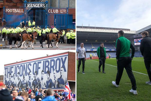 Rangers vs Celtic LIVE SCORE: Latest updates from TODAY'S Old Firm derby at the Ibrox