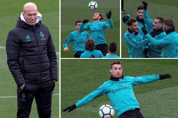 Zinedine Zidane insists Real Madrid need to forget about Champions League and focus on La Liga