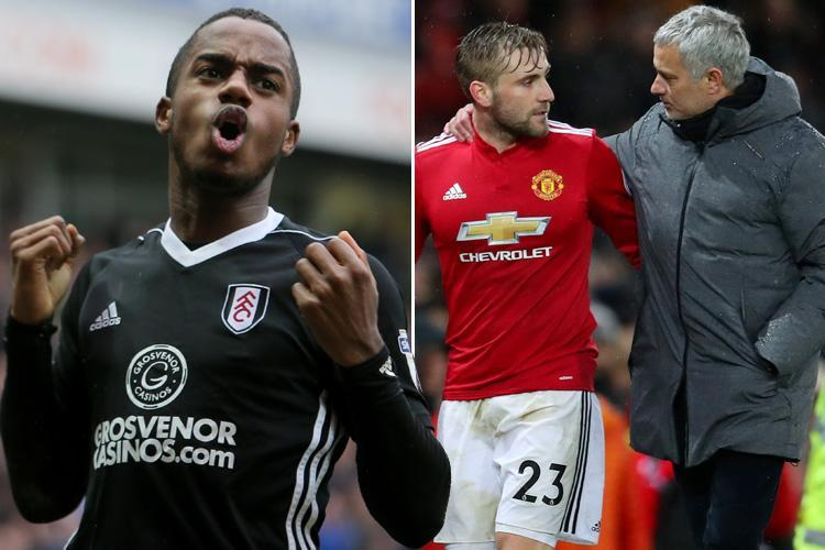 Manchester United boss Jose Mourinho eyeing £40m Fulham wonderkid Ryan Sessegnon this summer with Luke Shaw set to leave
