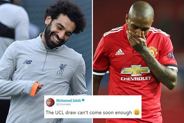 Liverpool star Mo Salah has cheeky dig at Manchester United after Ashley Young trolled him on Instagram