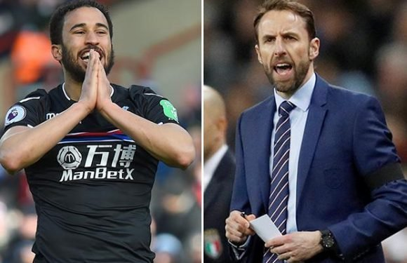 Crystal Palace star Andros Townsend eyes England World Cup spot as he refuses to give up on international dream