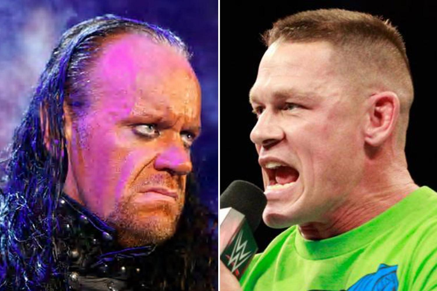 WWE legend Undertaker all but confirms WrestleMania appearances after John Cena challenges Phenom to match on Raw