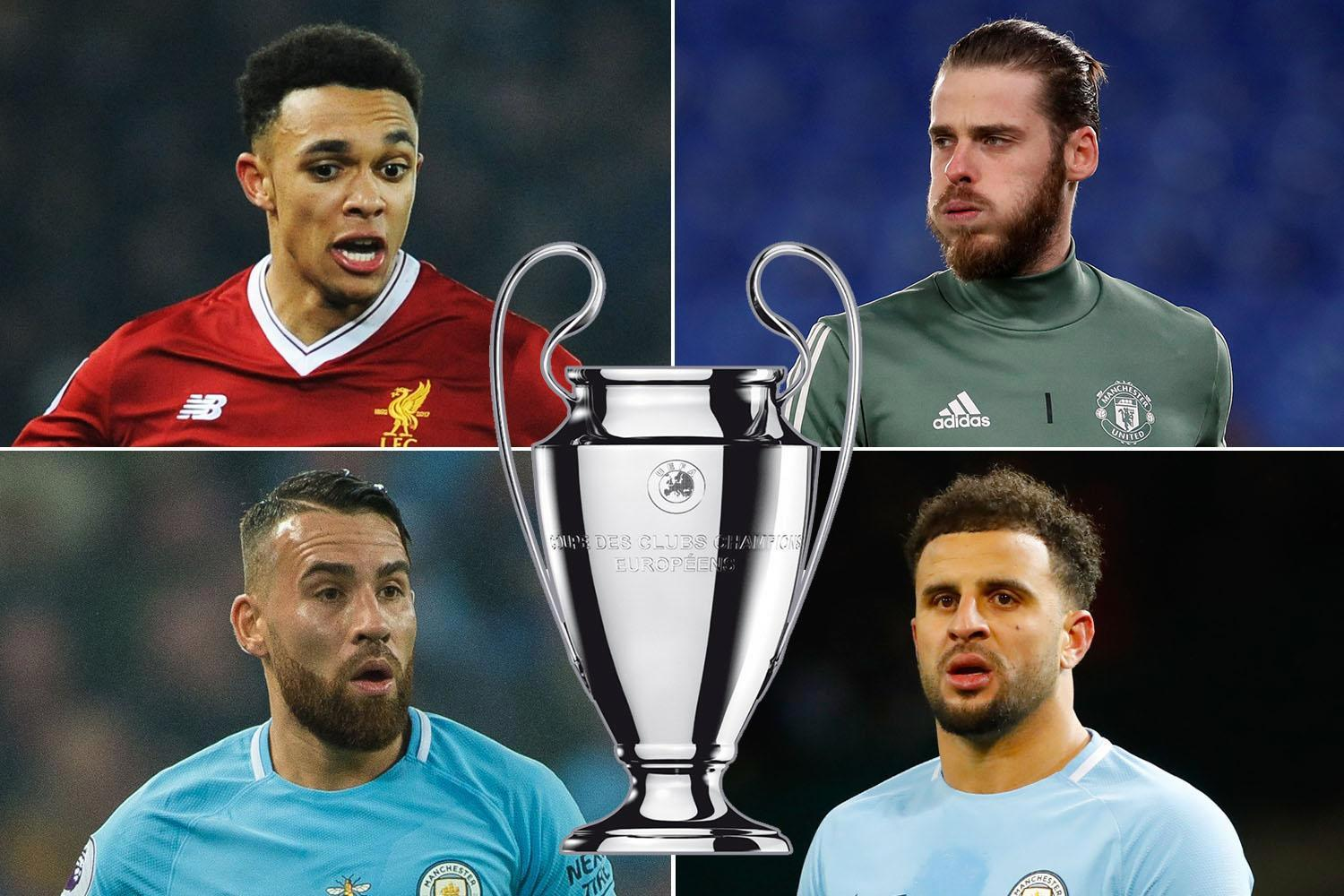 Liverpool youngster Trent Alexander-Arnold is the Champions League's top defender this season, as Jurgen Klopp's Reds dominate the best players list