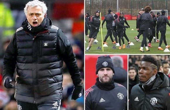 Manchester United boss Jose Mourinho to hold clear-the-air talks with entire squad this week to save season