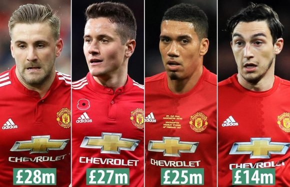 Manchester United looking for huge returns for unwanted stars during huge summer clear-out which includes Luke Shaw, Ander Herrera and Chris Smalling