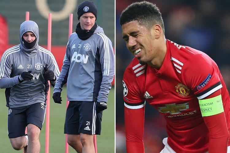 Manchester United reportedly set for summer clear out with Luke Shaw, Ander Herrera, Chris Smalling and Anthony Martial among NINE facing axe