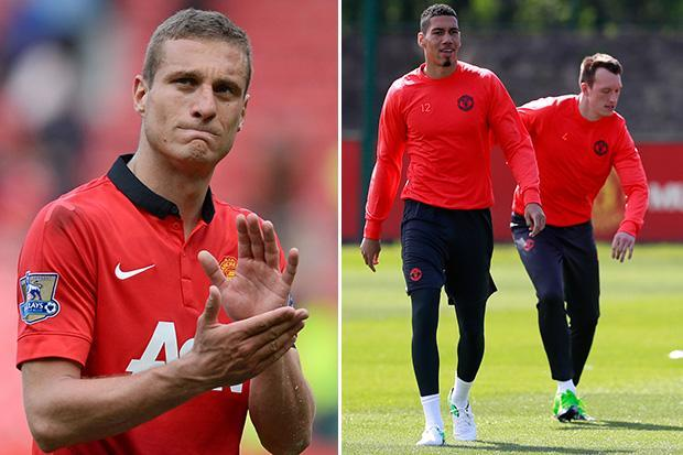 Ex-Manchester United skipper Nemanja Vidic blames himself for Chris Smalling and Phil Jones' defensive woes