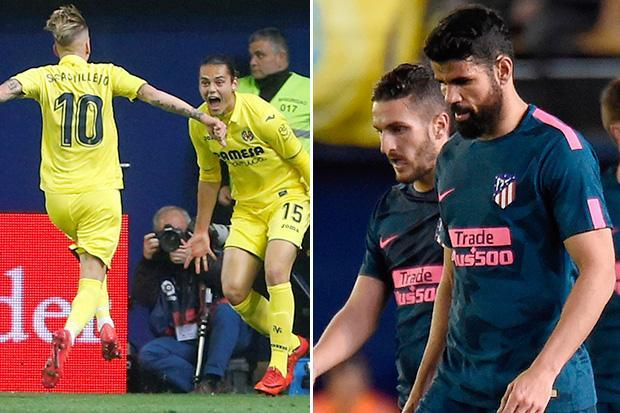 Villarreal 2 Atletico Madrid 1: Substitute Enes Unal nets dramatic late double to shatter Diego Simeone's La Liga title dreams