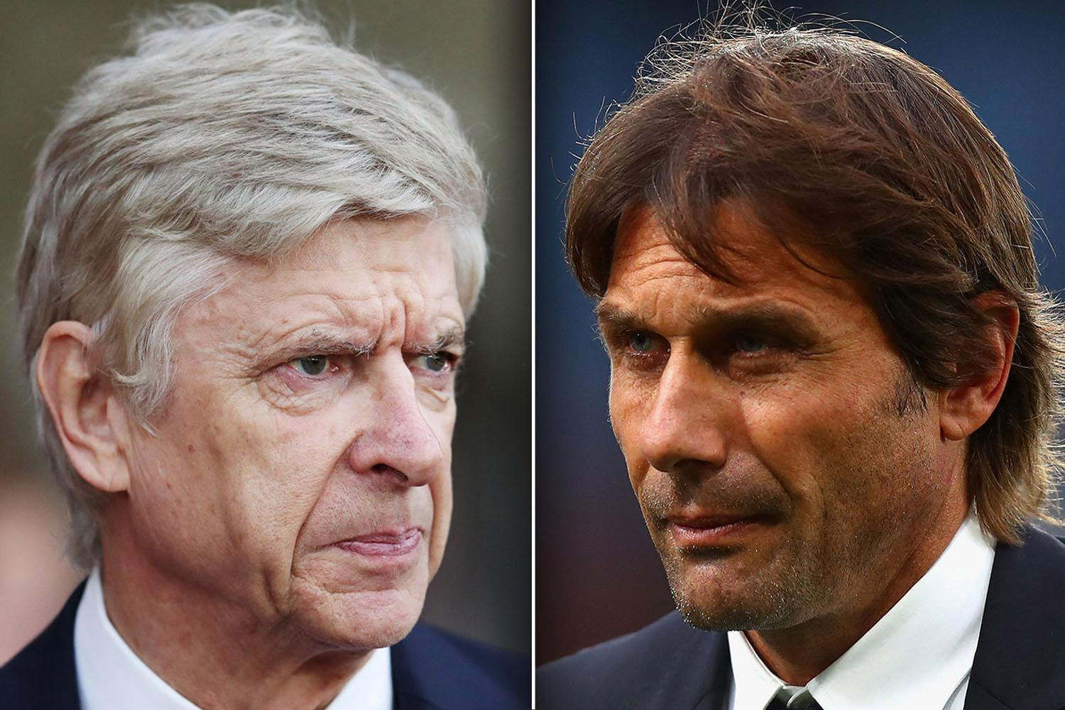 Arsene Wenger or Antonio Conte… is the Arsenal or Chelsea boss in more danger of being sacked?