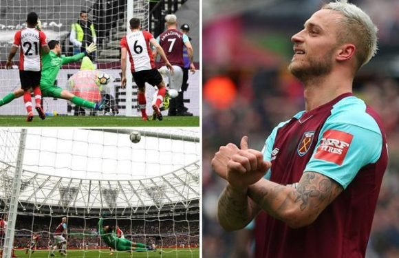 West Ham 3 Southampton 0: Marko Arnautovic scores twice as Hammers lift gloom to leave Mark Hughes in trouble