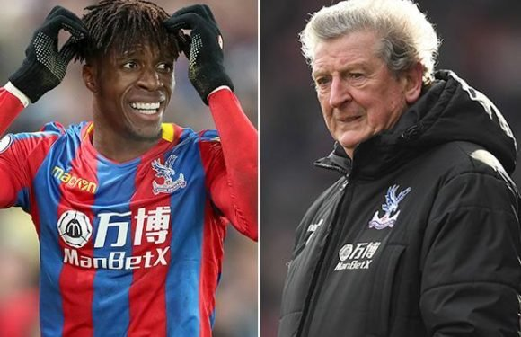 Crystal Palace boss Roy Hodgson reveals he constantly fears star man Wilfried Zaha may get injured