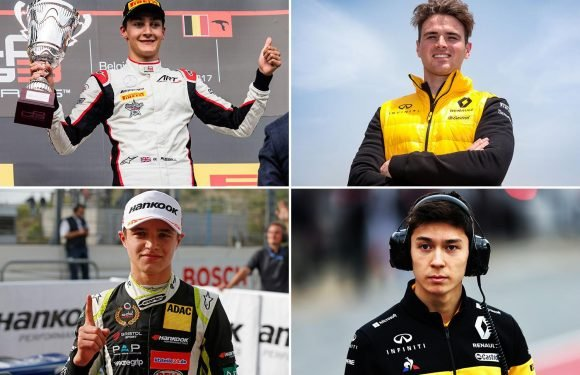 Lando Norris, George Russell, Jack Aitken, Oliver Rowland… the future of British hopes in F1 as Lewis Hamilton nears the end of his career
