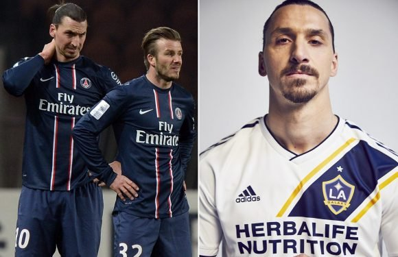Zlatan Ibrahimovic reveals David Beckham played a huge role in his move from Manchester United to LA Galaxy