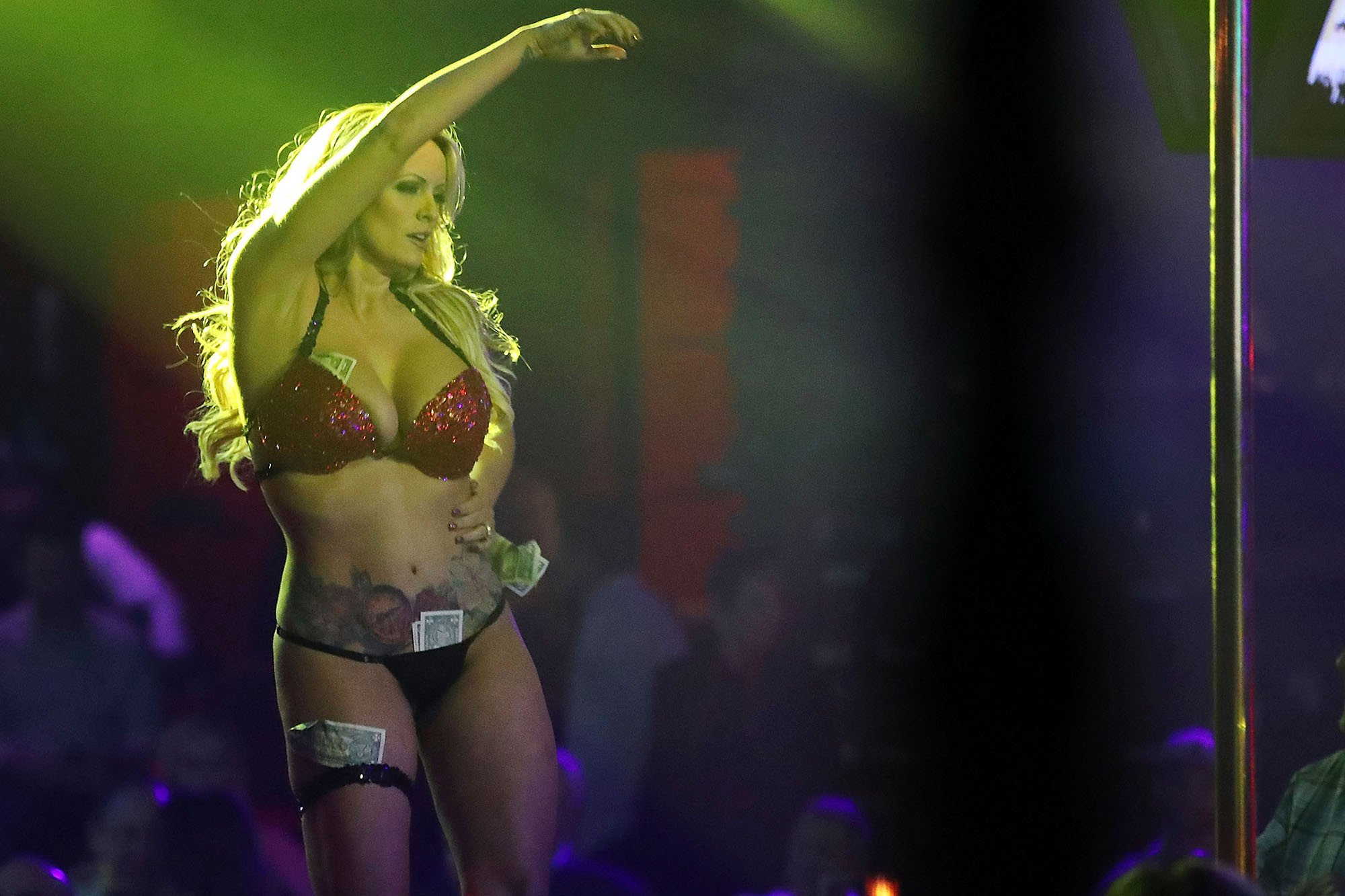 Stormy Daniels offers to pay back hush money