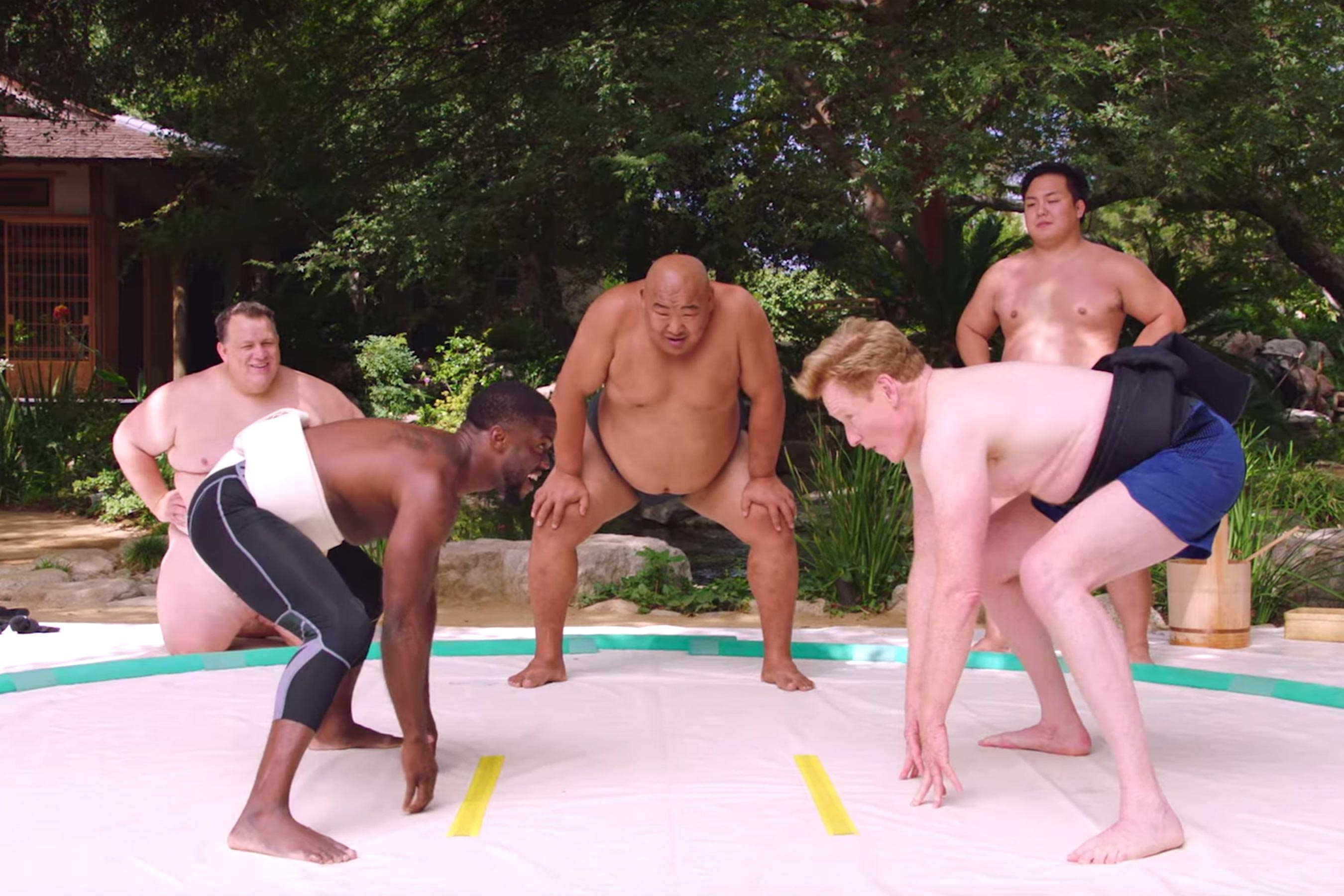 Kevin Hart: What the Fit trailer makes Conan O'Brien sumo wrestle