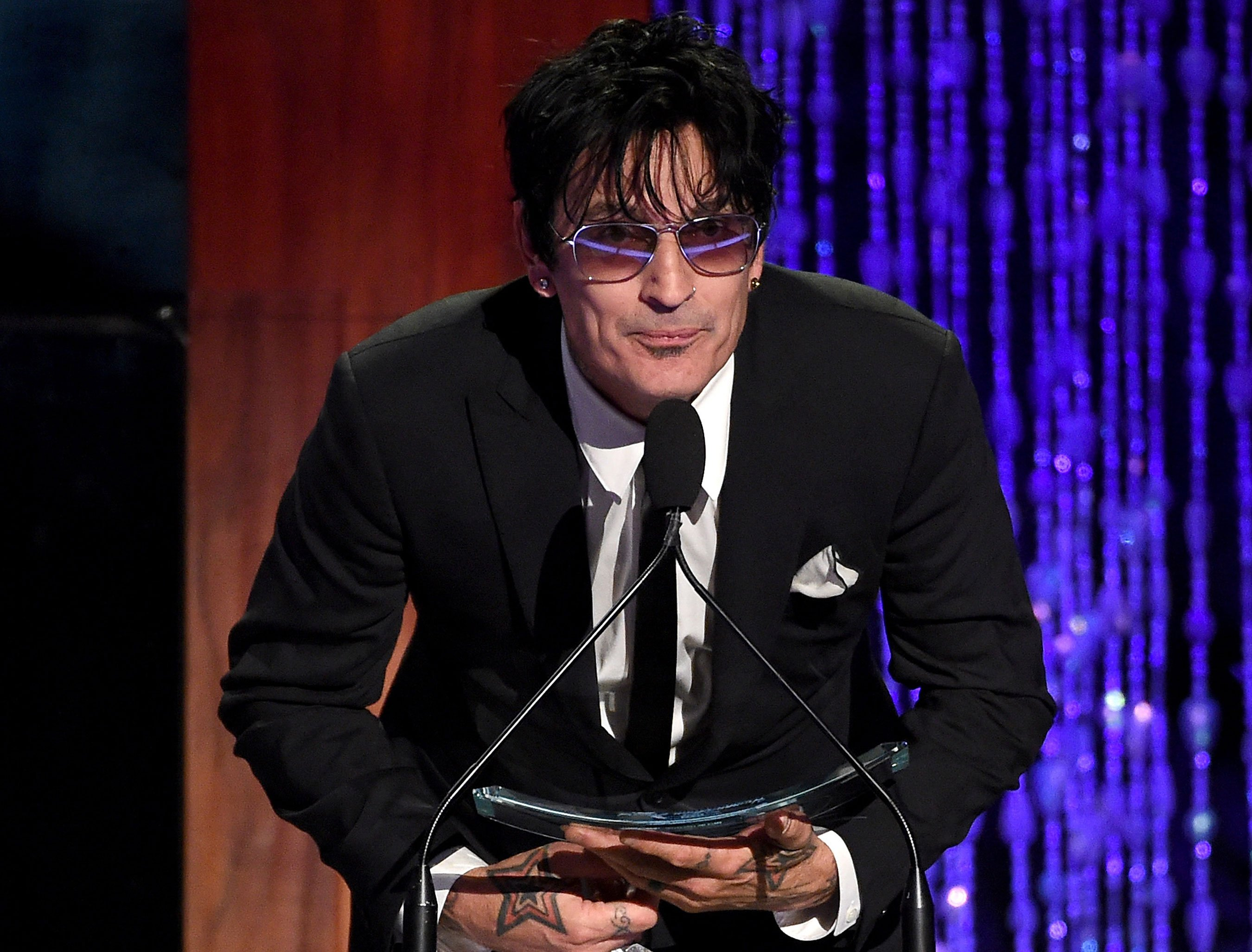 Tommy Lee claims son Brandon assaulted him: 'My heart is broken'
