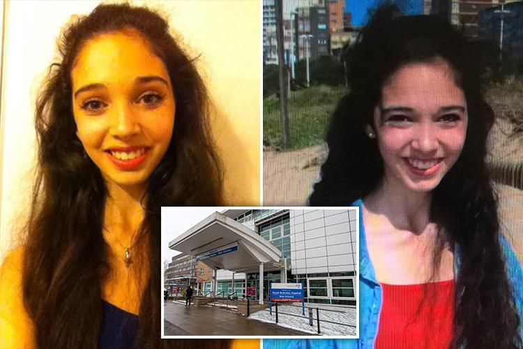 Desperate hunt for ex-Royal Ballet School pupil Ashleigh Fair who vanished from hospital into a blizzard wearing just her socks