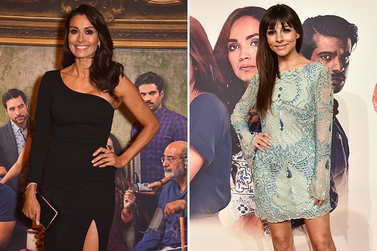 Melanie Sykes and Roxanne Pallett look super chic at Cake premiere