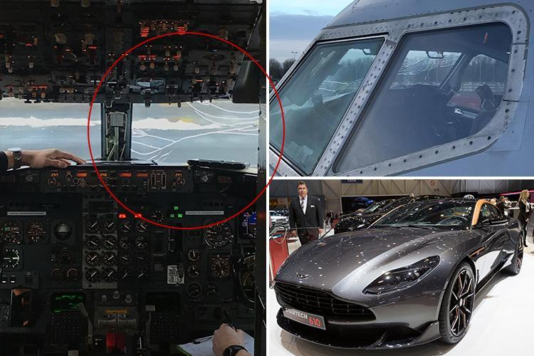 Cracked screen forces plane carrying Aston Martin customers to make emergency landing