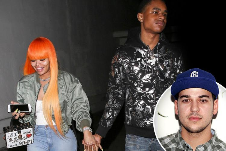Blac Chyna, 29, dating 18-year-old rapper after bitter split from Rob Kardashian
