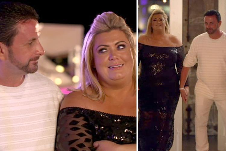Celebs Go Dating's Gemma Collins finally gets her man as she chooses Laurence over Daniel
