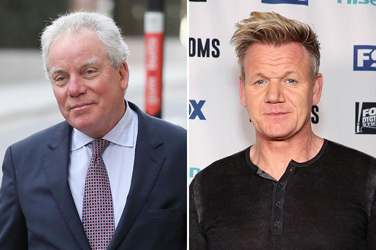 Gordon Ramsay's shamed father-in-law faces going bust after legal costs of £2million