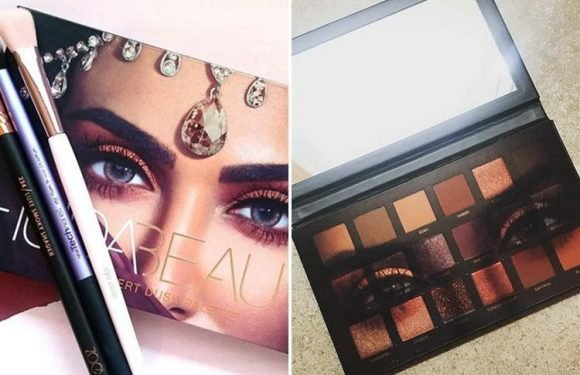 TK Maxx is selling £56 'Huda Beauty' eye palettes for £16 less… but you'll have to be quick to get one