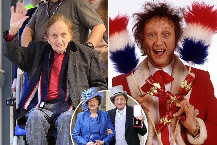 Sir Ken Dodd dead at 90 – Comedian dies at home where he was born just two days after marrying partner Anne Jones
