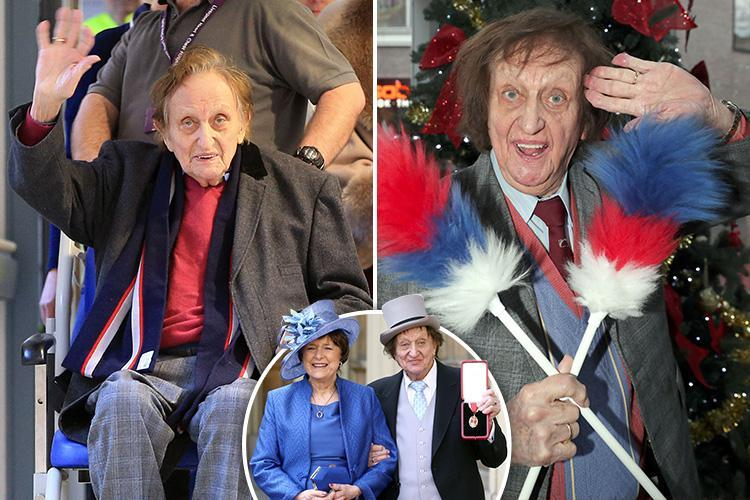 Ken Dodd dead at 90 – Comedian passes away at home where he was born and just two days after marrying partner of 40 years