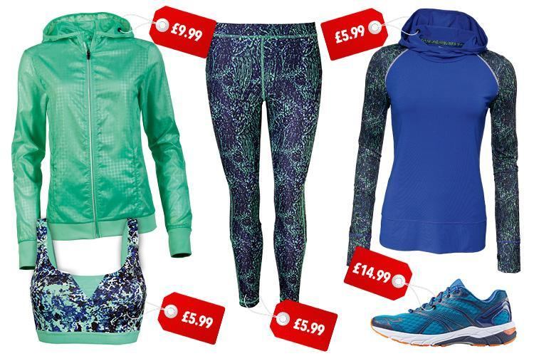Lidl is launching a new work out clothing range with prices