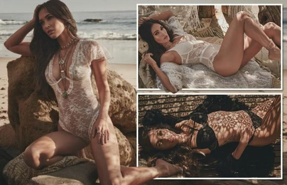 Megan Fox poses in revealing lingerie for undies firm Frederick's of Hollywood