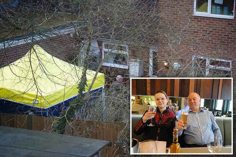 Russian spy's HOME is sealed off amid fears he was exposed to nerve agent before heading into city centre as number treated more than doubles to 21
