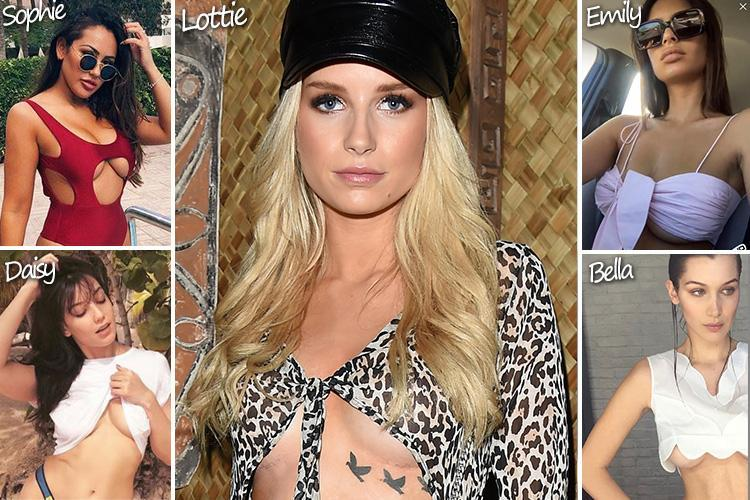From Emily Ratajowksi to Kendall Jenner, celebrities are rocking the underboob trend — but who dares to bare the most skin?