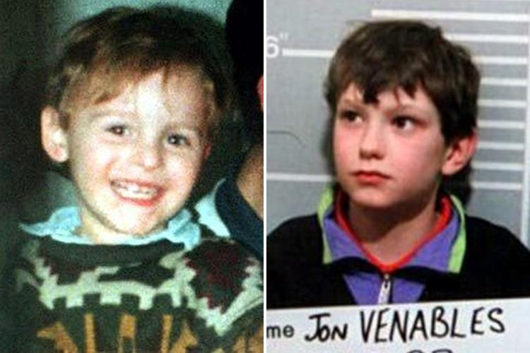 Lag claims James Bulger killer Jon Venables told prison guards 'I'll kill your kids, I've done it before'