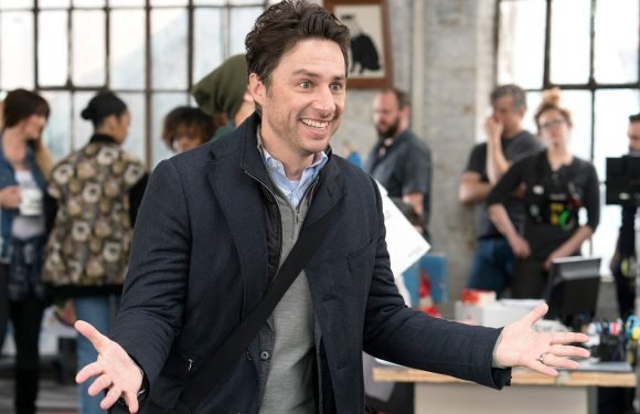 Zach Braff delights in playing 'a guy in over his head'