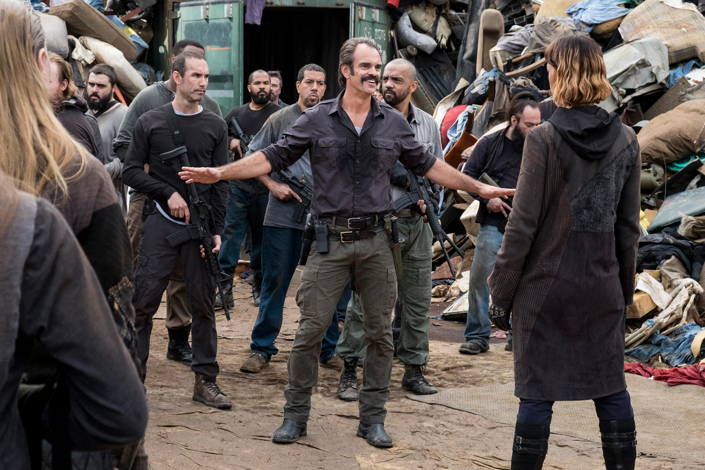 The Walking Dead: Steven Ogg on Simon's big move