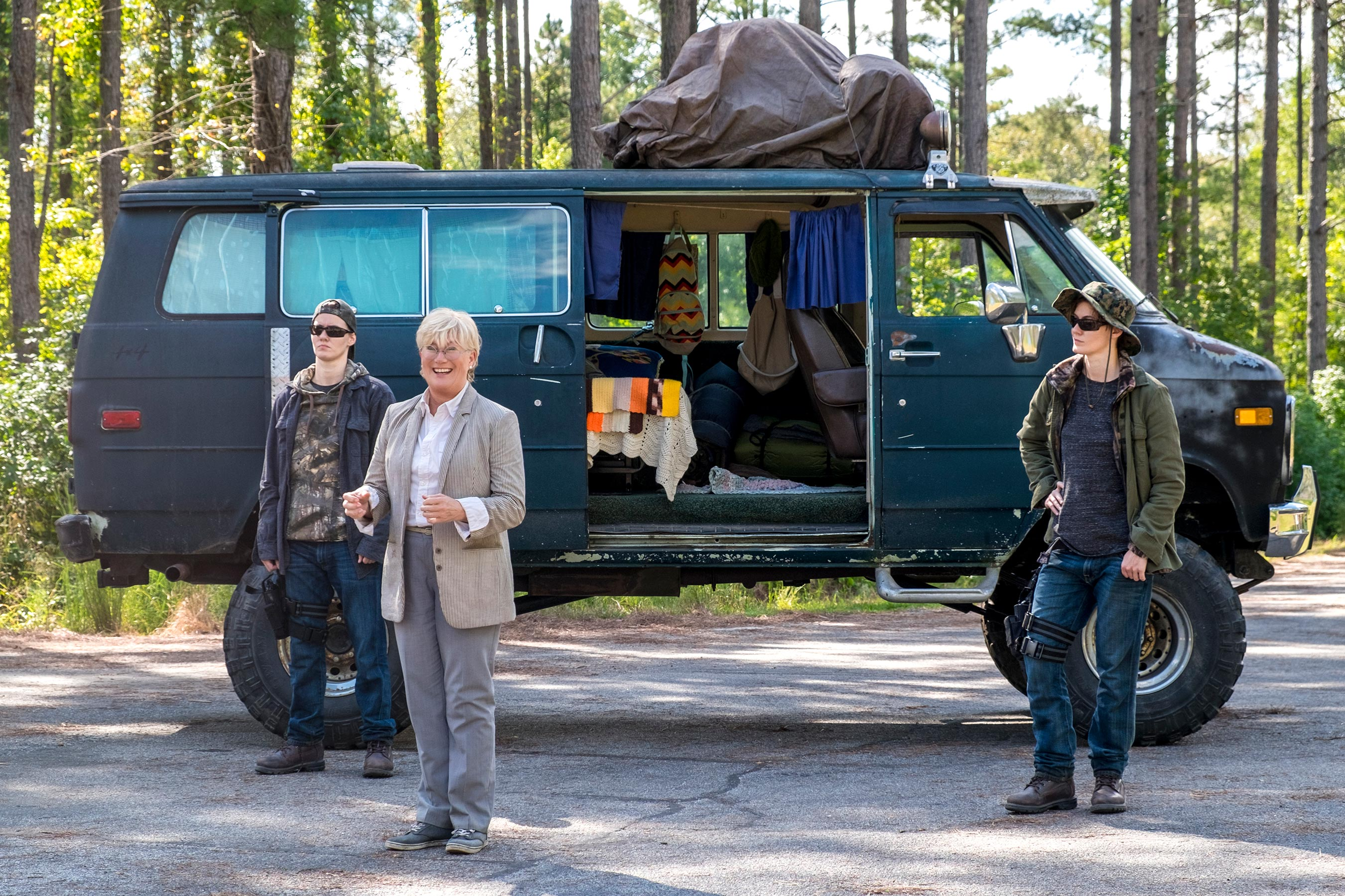 The Walking Dead: Georgie, aka Jayne Atkinson, speaks