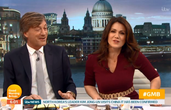 Good Morning Britain's Susanna Reid finally gets her name announced first while Piers Morgan is on a break