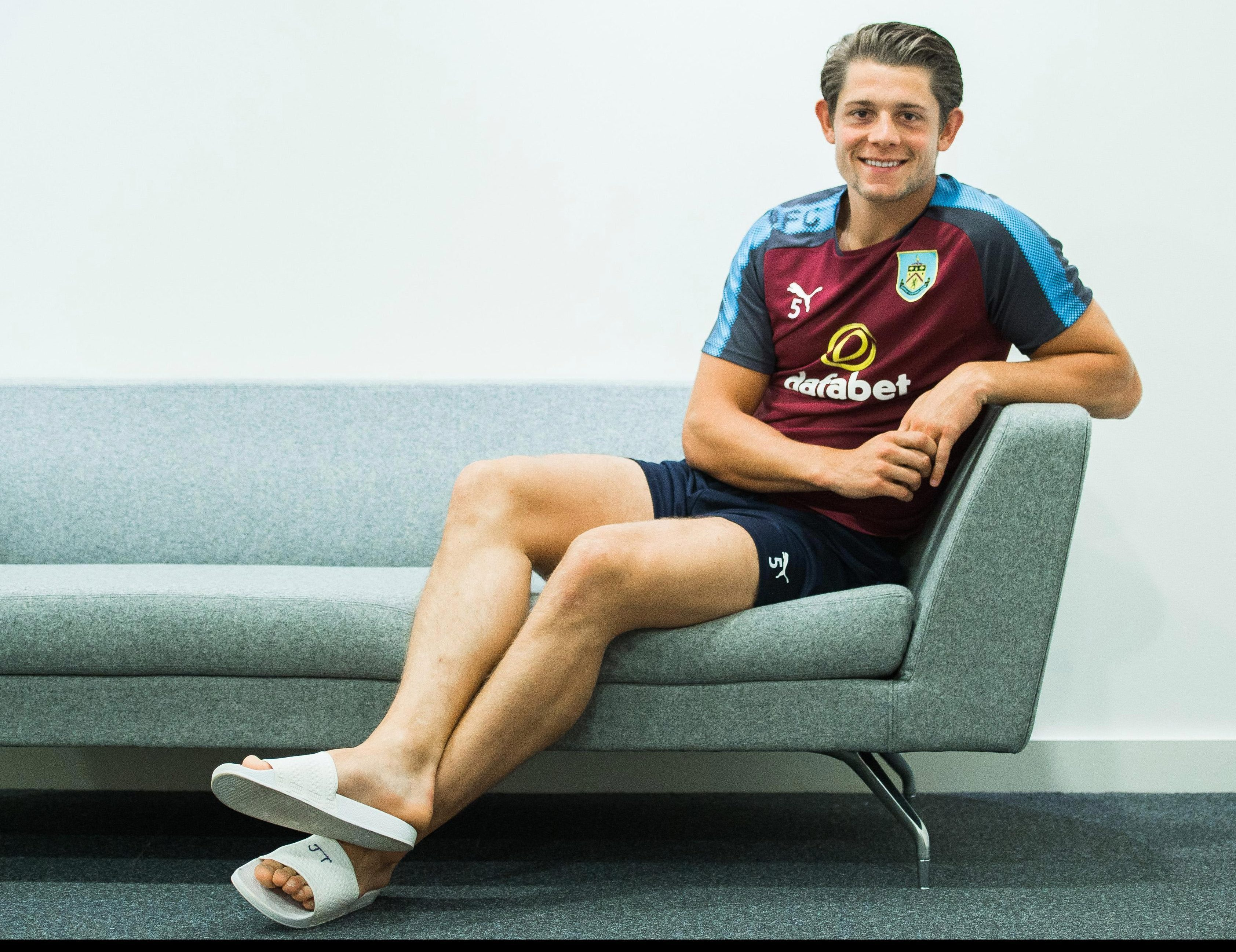 James Tarkowski was literally too big for his boots but now the Burnley defender could have the world at his feet