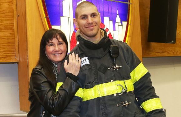 FDNY grad's mom was one of the city's first female firefighters