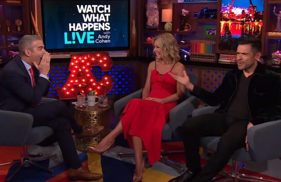 Kelly Ripa's Super-Sexual 'WWHL' Interview Leaves Andy Cohen and Mark Consuelos Absolutely Speechless