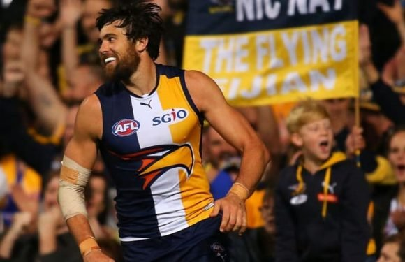 'Slippery' Kennedy lauded as AFL's best forward as Eagles goalkicking record looms in Western Derby