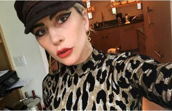 When Lady Gaga Wears Leopard, She Wears It ALL the Way to the Floor, Babe