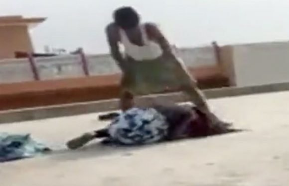 Girl, 12, jumps off roof to escape dad beating her violently with shoe